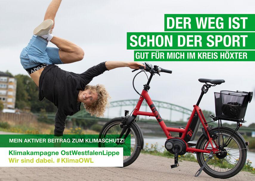 OWL_Postkarte_A6_fahrrad_sport